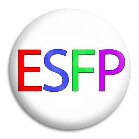 Rainbow Esfp Button Badge