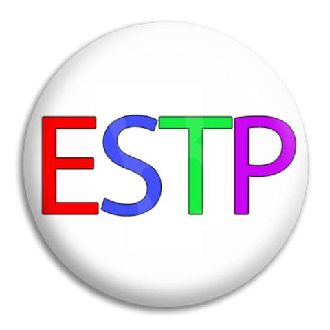 Rainbow Estp Button Badge