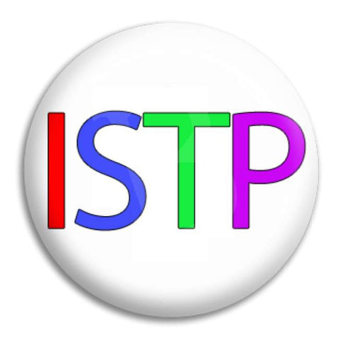 Rainbow Istp Button Badge