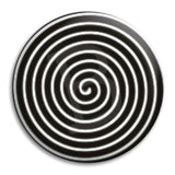Spiral Button Badge