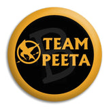 Team Peeta Button Badge