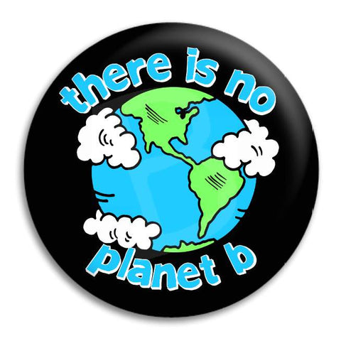 There Is No Planet B Button Badge
