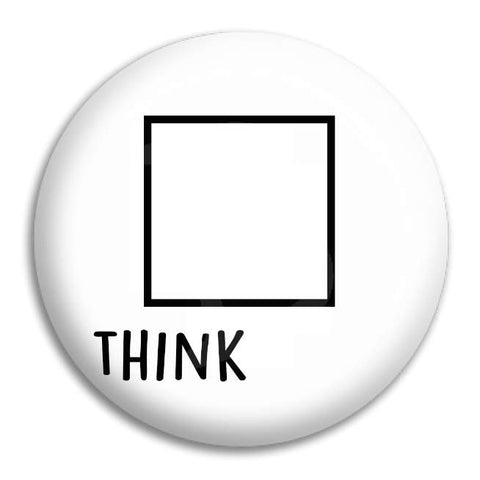Think Button Badge