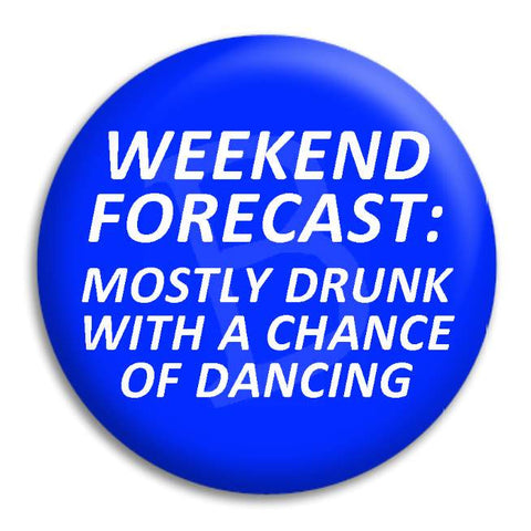 Weekend Forecast Button Badge