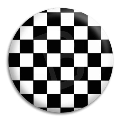 Checkerboard Button Badge