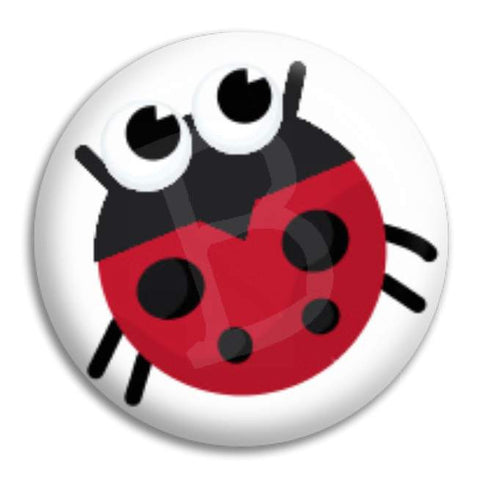 Ladybeetle Button Badge