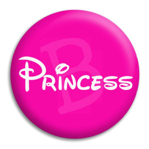 Princess Pink Button Badge