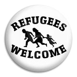 Refugees Welcome Button Badge