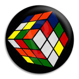 Rubik'S Cube Button Badge