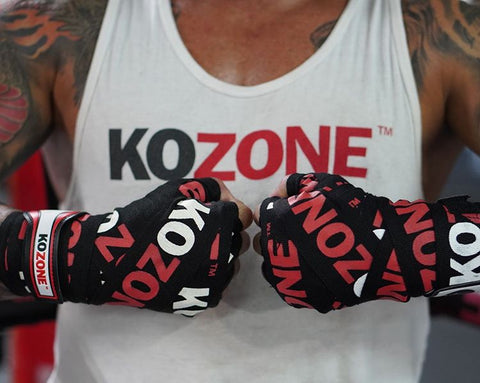 KO ZONE Mexican-Style Boxing Handwraps - 180""