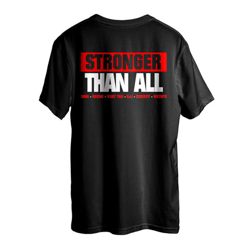 Stronger Than All T-Shirt- Red