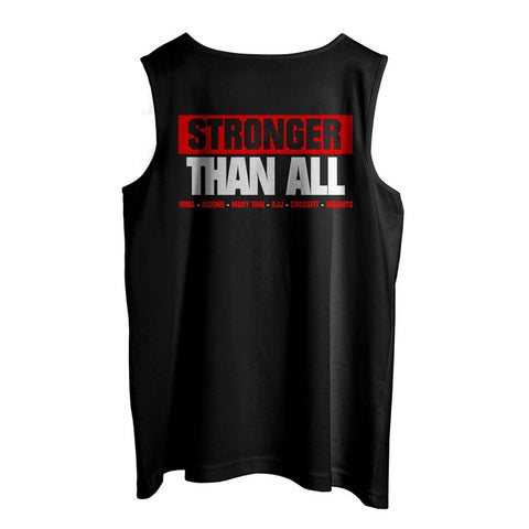 Stronger Than All Tank- Red
