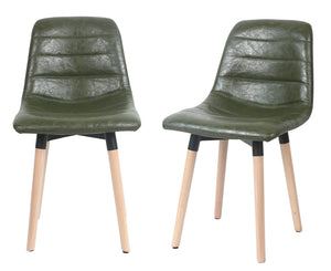 ViscoLogic LUXUS Dining Chairs (2, Serene Green)
