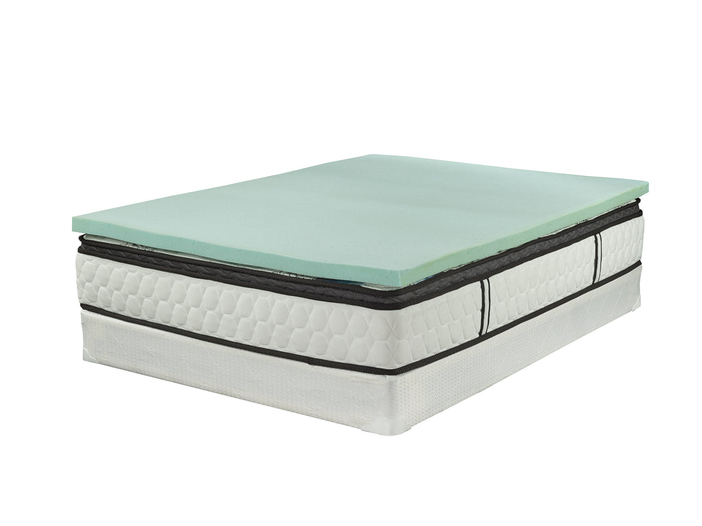 thick mattress pad. ViscoLogic 2 Inch Thick Cool Gel Infused Memory Foam Mattress Topper Pad A