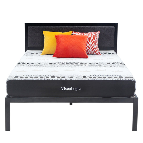 ViscoLogic ELITE Medium Firm Memory Foam Mattress With Bamboo Fibre Feel Cover