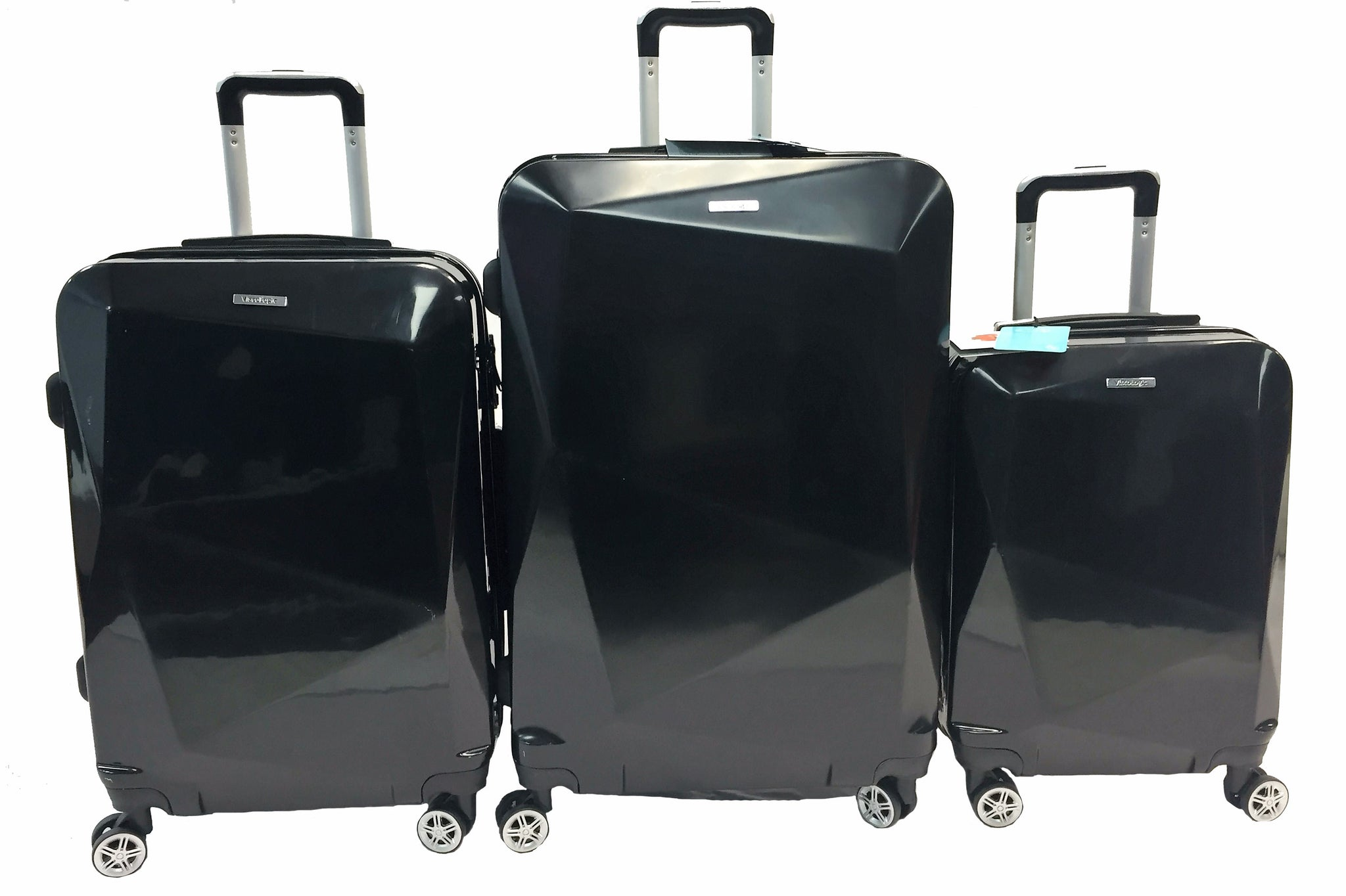 ViscoLogic 3 Piece SMART-EDGE Luggage Set (28-24 & 20 inches)
