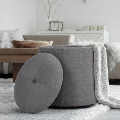 TOMBSTER Storage Ottoman