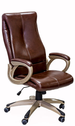 ViscoLogic LUXE Executive High Back Thick Padded Swivel Office Chairs