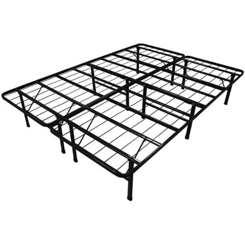 ViscoLogic STURDY Patform Heavy Duty Metal Bed Frame/Mattress Foundation (Full)
