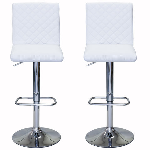 ViscoLogic MODA 23 to 34 inch Height Adjustable Swivel Bar Stools (Set of 2)