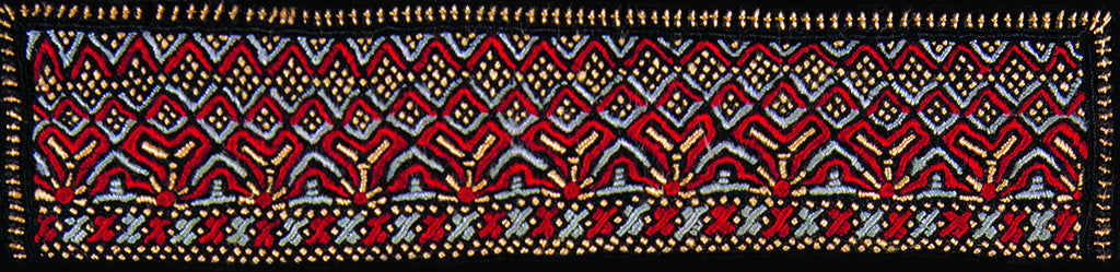 Embroidery from Kutch, India
