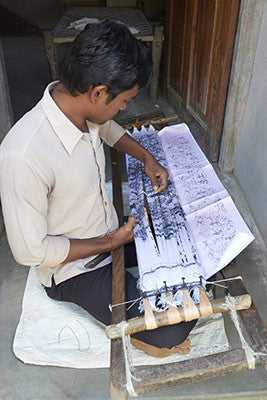 Weft Ikat in India