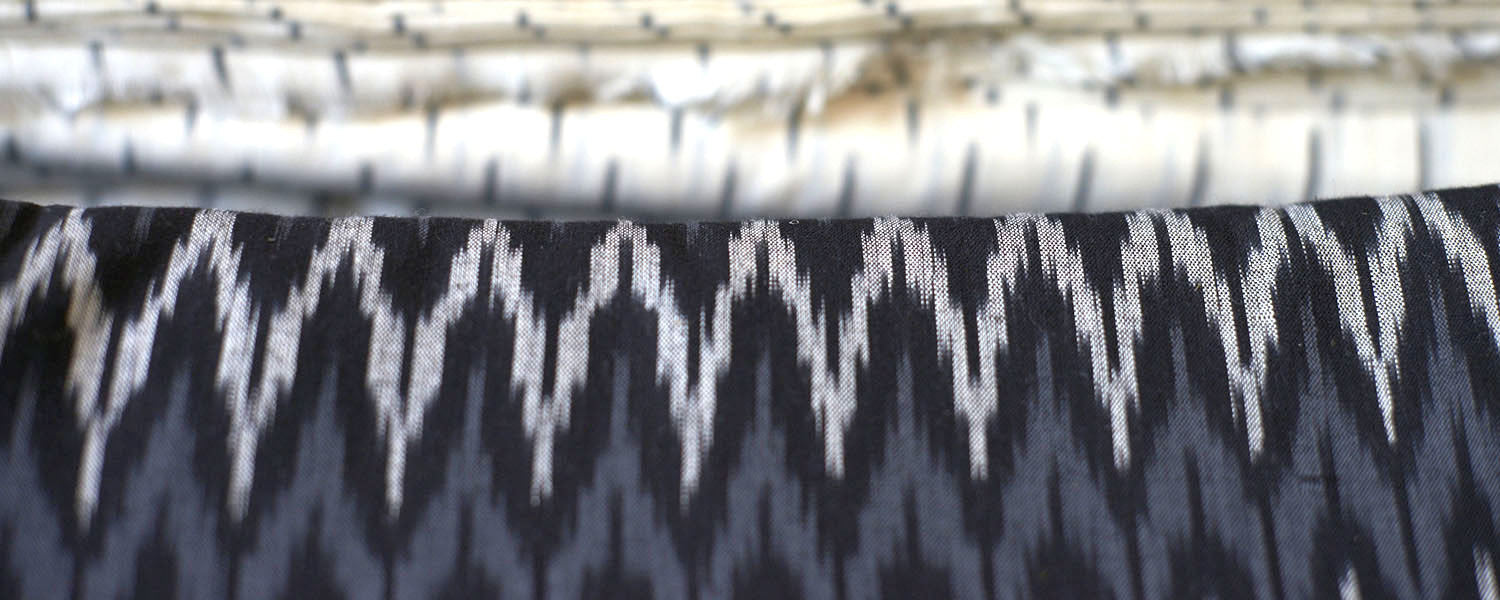 Ikat patterning