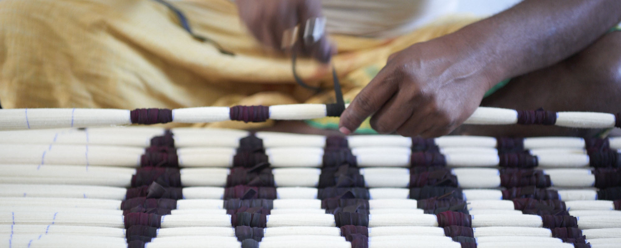Ikat weaving in India