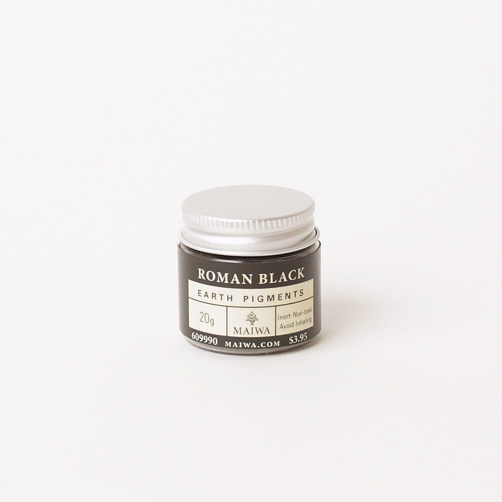 Roman Black Earth Pigment from Maiwa