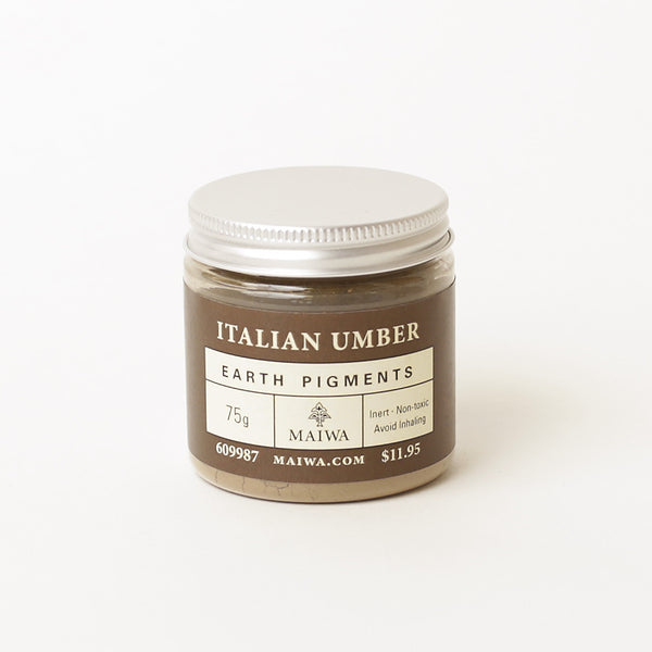 Italian Umber Earth Pigment from Maiwa