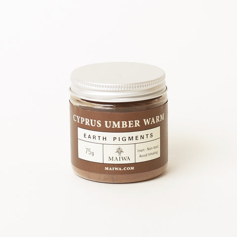 Cyprus Umber Warm Earth Pigment from Maiwa