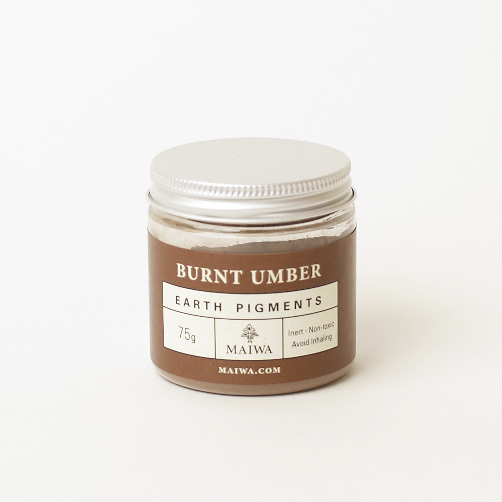 Burnt Umber Earth Pigment from Maiwa