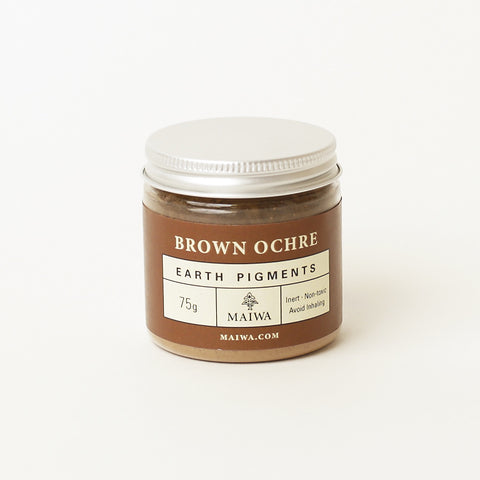 Brown Ochre Earth Pigment from Maiwa