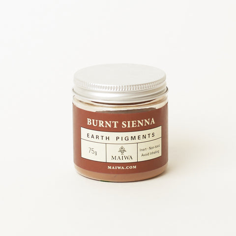 Burnt Sienna Earth Pigment from Maiwa