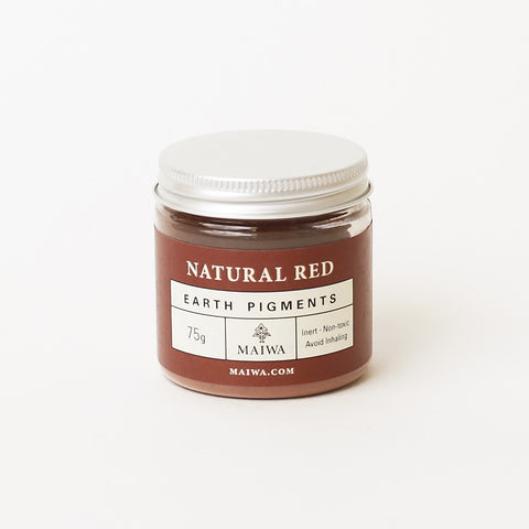 Natural Red Earth Pigment from Maiwa