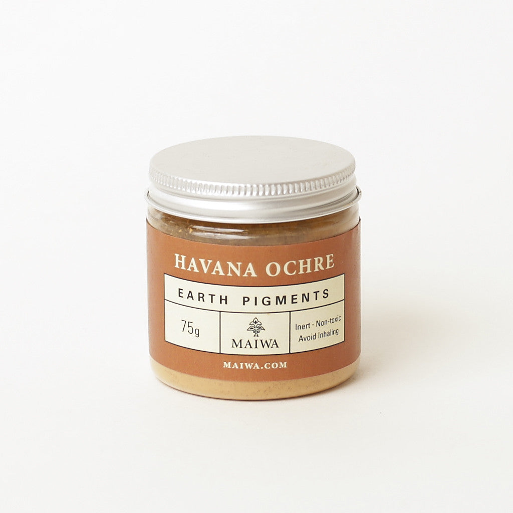 Havana Ochre Earth Pigment from Maiwa