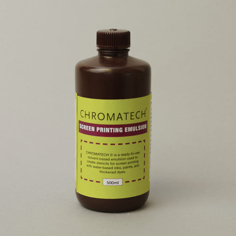 Chromatech Silkscreen Emulsion 500 ml (18 oz)