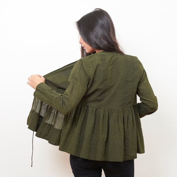 Tanda Jacket - Cotton - Forest