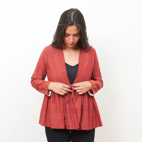 Tanda Jacket - Cotton - Rust