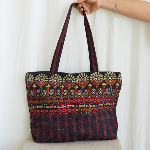 Kachchh Embroidery - Tote Bag - Pattern 1