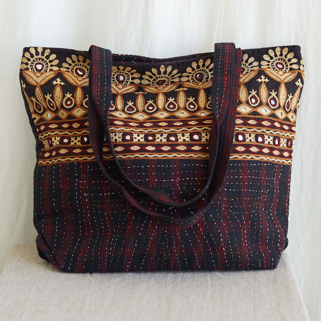 Kachchh Embroidery - Tote Bag - Pattern 2