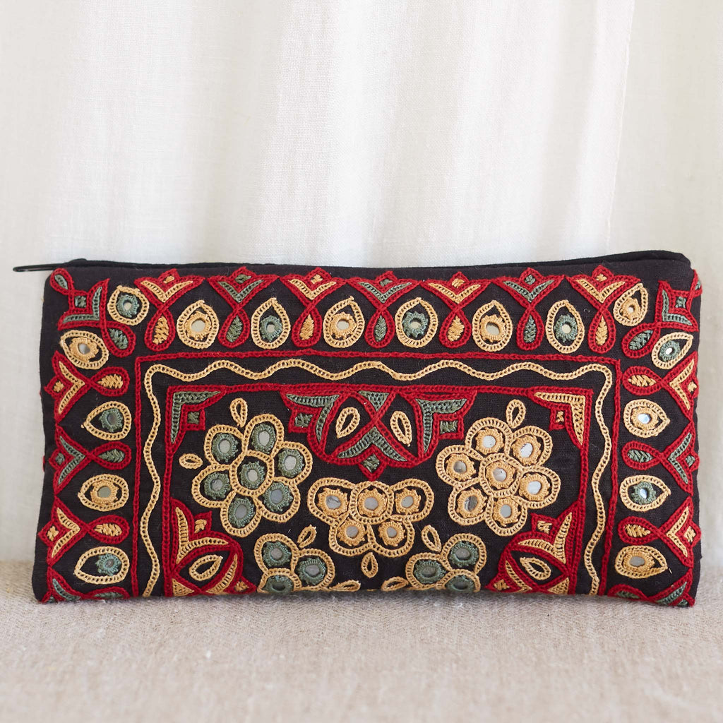 Kachchh Embroidery - Long Wallet - Pattern 3