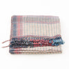 Bhujodi Naturally Dyed Shawl - Desert Stripe - Eri Silk & Khadi Cotton