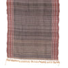 Bhujodi Naturally Dyed Shawl - Evening Gold - Tussar Silk & Khadi Cotton