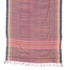 Bhujodi Naturally Dyed Shawl - Evening Sky - Eri Silk & Handspun Cotton