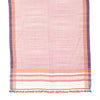Bhujodi Naturally Dyed Shawl - Cream - Eri Silk & Khadi Cotton