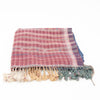 Bhujodi Naturally Dyed Shawl - Purple Stripes - Eri Silk & Khadi Cotton