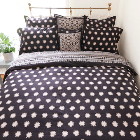 Organic Cotton Duvet  Cover - Ajrakh Halo