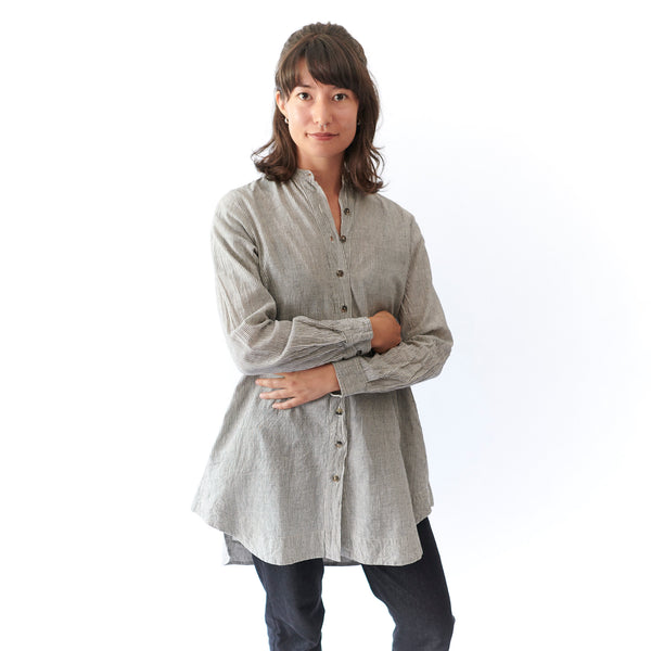 Kama Shirt - Grey - Cotton