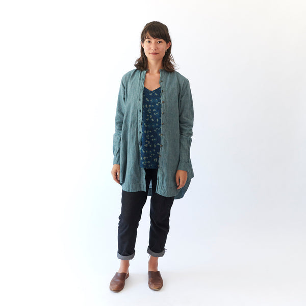 Kama Shirt - Teal - Cotton